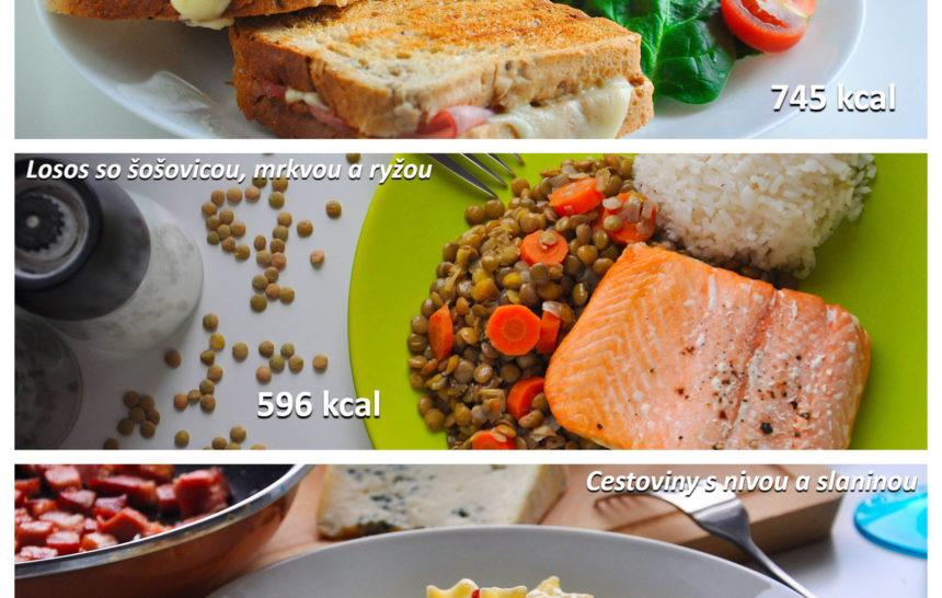 Fitness jedálniček zdravé stravovanie