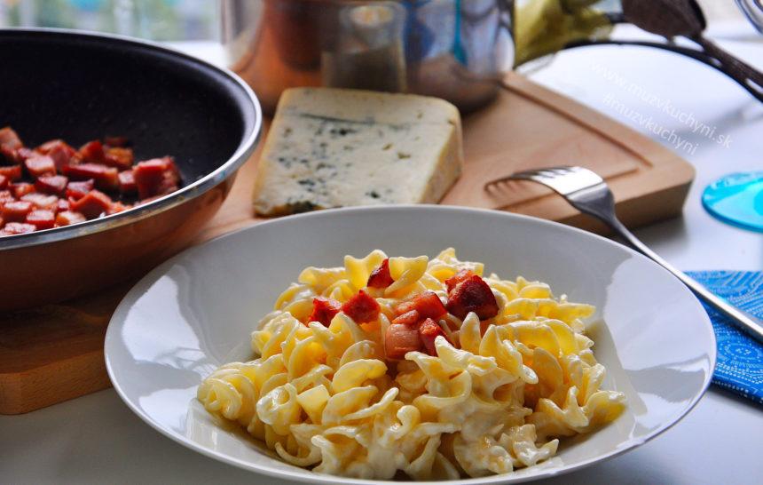 Recept na cestoviny niva slanina výborný ľahká rýchla večera