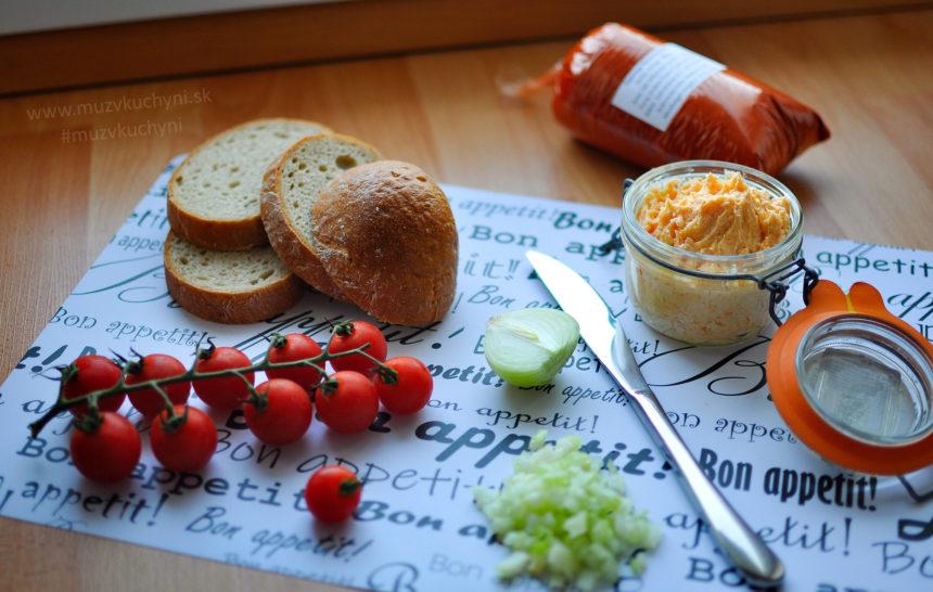 bryndza, pomazánka, bryndzová, raňajky, jednoduché, rýchle, ľahké, zelenina, zdravé, fitrecept, fitness recept