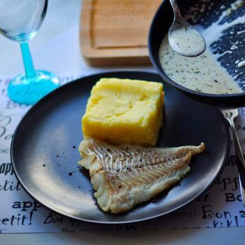 treska, recept, ryba, obed, fitrecept, fitness recept, smotana, cesnak, rozmarín, tymián, provensálska zmes, ako pripraviť tresku