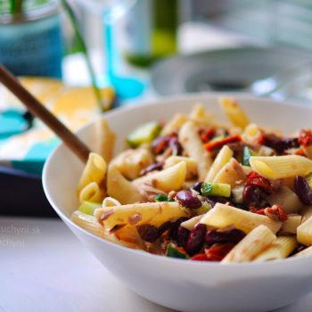 recept, obed, večera, jednoduchý, jednoduchá, chutný, chutná, rýchly, rýchla, cestoviny, tuniak, fazuľa, čo na obed, čo na večeru, tip na dobrý recept