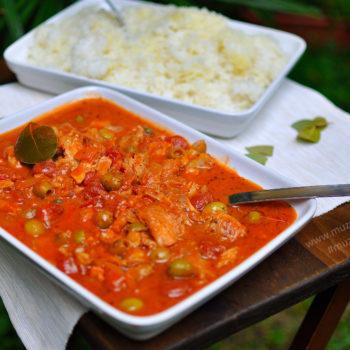 treska, recept, ryba, ako pripraviť, obed, večera, ryža, kubánske recepty