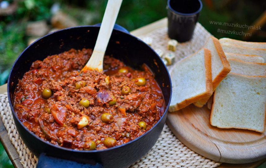 Picadillo, kubánsky recept, kubánske recepty, obed, večera, jednoduchý, rýchly, chutný
