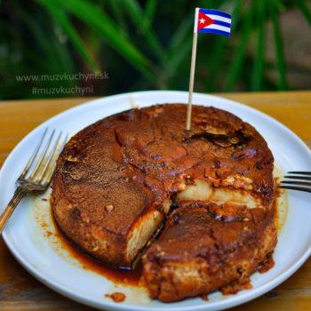Flan, kubánsky, recept, dezert, niečo sladké, pod zub, puding, domáci