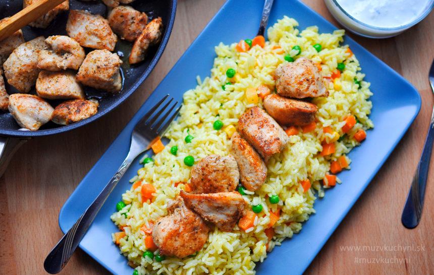 šištauk, šiš tauk, recept, obed, večera, špíz, mäso, morčacie, prsia, ryža, kari, jogurtový dresing, šašlik