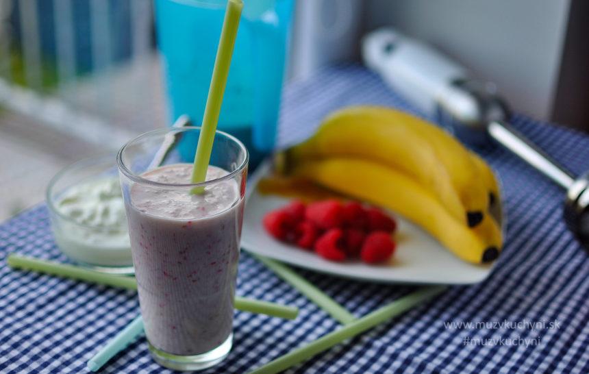 malinový, milkshake, malinové, smoothie, recept, jednoduchý, chutný, zdravý, rýchly, raňajky, večera