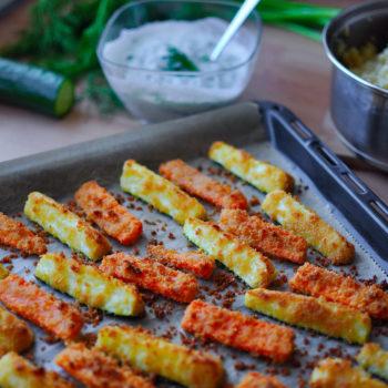 zeleninové, hranolky, hranolčeky, vegan, recept, vegánsky, vegeterian, večera, obed, cukina, bulgur