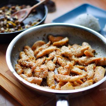 morčacie, kuracie, stripsy, recept, huby, rozmarín, obed