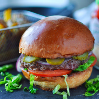 klasický burger, recept, hamburger, ako pripraviť
