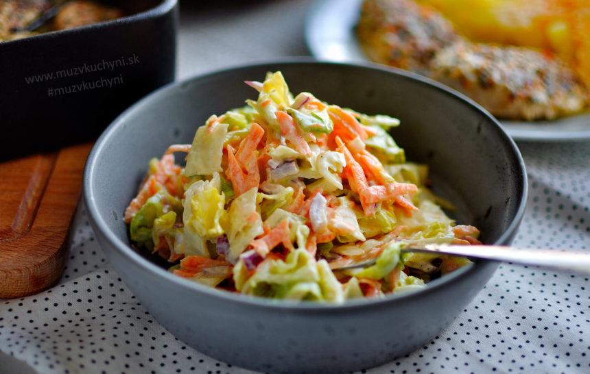 coleslaw, šalát, recept, k mäsu