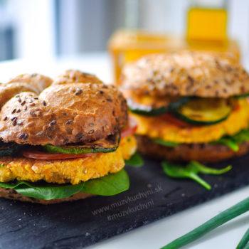 vegan burger, vegetarian burger, hamburger, recept, cícer, šošovica