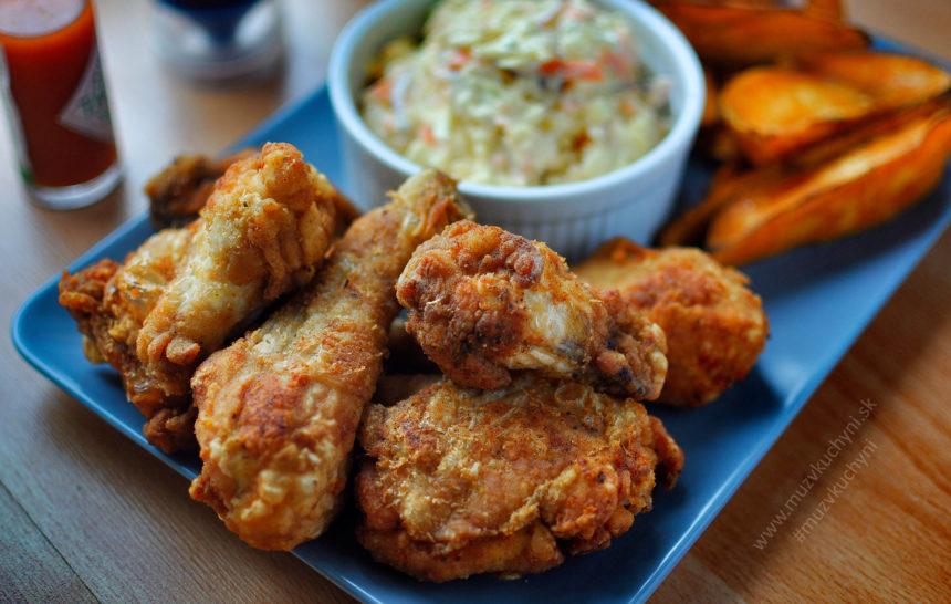 domáce, KFC, recept, wings, krídelka, batáty